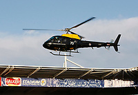 Photo: Steve Bond/Richard Lane Photography. Leicester City v West Bromwich Albion. Coca Cola Championship. 07/11/2009. Helicopter at the Walkers stadium
