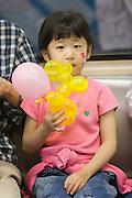 Girl in the metro.