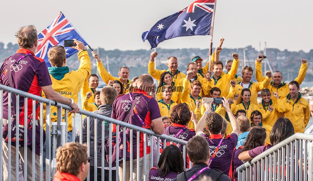 team australia<br /> <br /> 2012 Olympic Games <br /> London / Weymouth