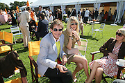Richard Dennen and Lady Emily Compton, The Veuve Clicquot Gold Cup 2007. Cowdray Park, Midhurst. 22 July 2007.  -DO NOT ARCHIVE-© Copyright Photograph by Dafydd Jones. 248 Clapham Rd. London SW9 0PZ. Tel 0207 820 0771. www.dafjones.com.