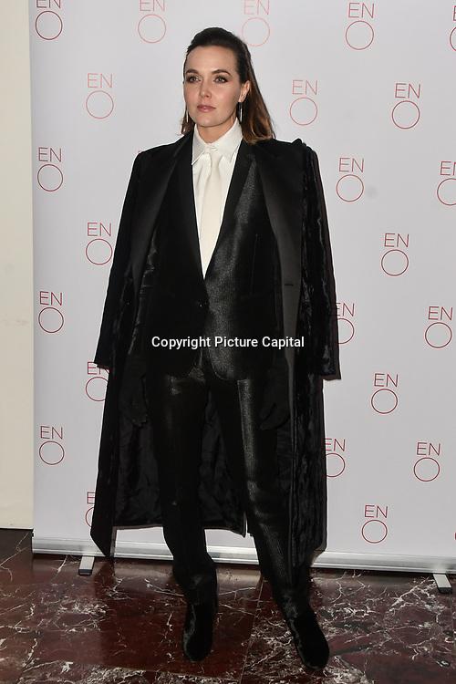Victoria Pendleton Arrivals at La Bohème VIP Performance on 29 January 2019 at London Coliseum, London, UK.