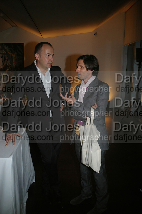 FLORIAN BERKTOLD AND JEREMY DELLER, Doris Salcedo  installation and Louise Bourgeois - private view. Dinner afterwards for the Louise Bourgeois exhibition. Tate Modern, London, SE1,-DO NOT ARCHIVE-© Copyright Photograph by Dafydd Jones. 248 Clapham Rd. London SW9 0PZ. Tel 0207 820 0771. www.dafjones.com.