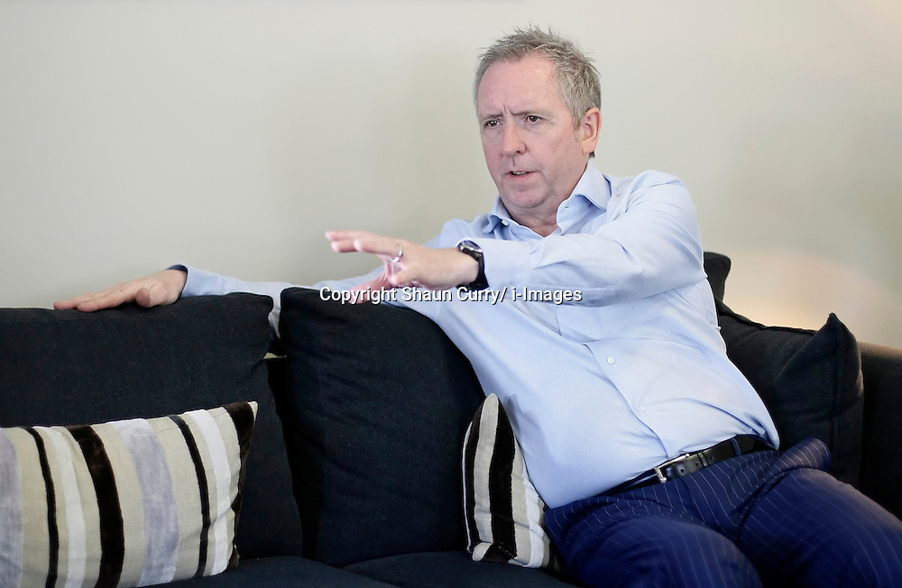 Martin MacCourt, CEO of Dyson Vacuum Cleaners is pictured during an interview in London, March 2012. Photo by Shaun Curry/i-Images.