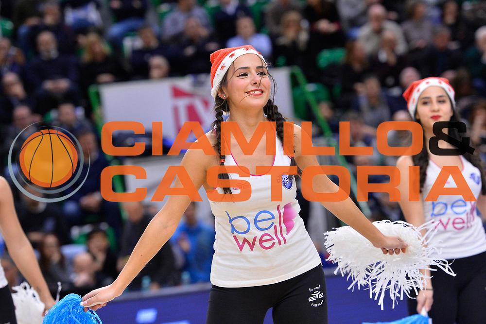 SASSARI 16 DICEMBRE 2017<br /> Banco di Sardegna Dinamo Sassari - The Flexx Pistoia<br /> LegaBasket LBA PosteMobile 2017/2018<br /> NELLA FOTO Corpo di Ballo<br /> FOTO CIAMILLO - Luigi Canu