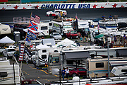 September 28-30, 2018. Charlotte Motorspeedway, Xfinity Series, Drive for the Cure 200: flags, Confederate flag