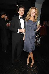 KATE MELHUISH and JACK FREUD at Andy & Patti Wong's Chinese new Year party held at County Hall and Dali Universe, London on 26th January 2008.<br />