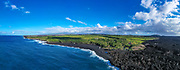 Issac Hale Beach Park, Pohiki Beach, Black Sand Beach, Puna, Island of Hawaii, Hawaii