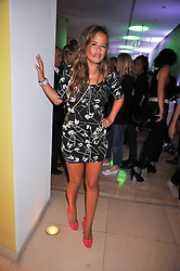 JADE JAGGER at the St.Martins Lane Hotel 10th year bash held on 9th September 2009.