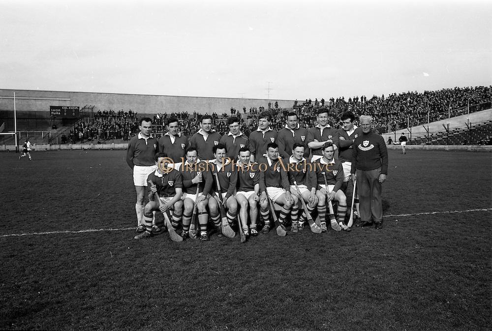 17/03/1967<br /> 03/17/1967<br /> 17 March 1967<br /> Railway Cup Final: Munster v Leinster at Croke Park, Dublin. <br /> The Munster team.