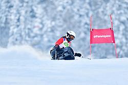 Women's Giant Slalom, LIU Sitong, LW12-2, CHN at the WPAS_2019 Alpine Skiing World Championships, Kranjska Gora, Slovenia