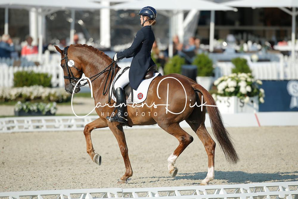 Gyllenswärd Josefin, (SWE), Don Angelo<br /> Grand Prix U25<br /> CDIO Hagen 2015<br /> © Hippo Foto - Stefan Lafrentz