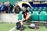 Frederic MICHALAK - 01.05.2015 - Captains' Run de Toulon avant la finale - European Rugby Champions Cup -Twickenham -Londres<br /> Photo : David Winter / Icon Sport