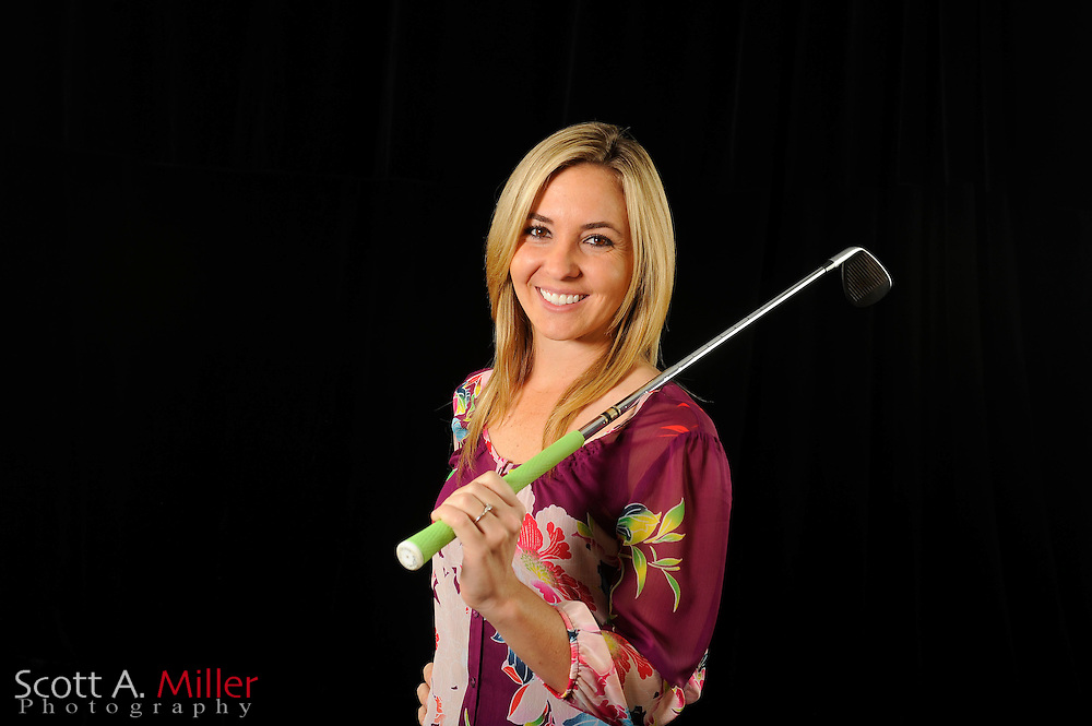 Christina Jones during a portrait shoot prior to the Symetra Tour's Florida's Natural Charity Classic at the Lake Region Yacht and Country Club on March 19, 2012 in Winter Haven, Fla. ..©2012 Scott A. Miller.