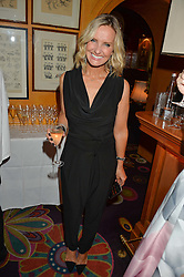 TV Presenter JACQUIE BELTRAO at a dinner to celebrate the 125th anniversary of the Dog's Trust held at Annabel's, Berkeley Square, London on 1st November 2016.