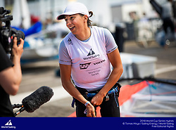 Hyères, France is hosting the third round of the 2018 World Cup Series. More than 830 sailors from 46 nations, sailing in one Para World Sailing event and the ten Olympic classes will race in the French town from 22-29 April 2018. © Tomas Moya/Sailing Energy/World Sailing