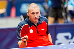 (FRA) NOEL Sylvain in action during 15th Slovenia Open - Thermana Lasko 2018 Table Tennis for the Disabled, on May 10, 2018 in Dvorana Tri Lilije, Lasko, Slovenia. Photo by Ziga Zupan / Sportida
