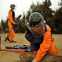 De-mining Operations in Kinmen , Taiwan, on Monday May 18,2009/ Photographer: Bernardo De Niz/