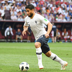 Nabil Fekir of France during the FIFA World Cup Group C match between Denmark and France at Luzhniki Stadium on June 26, 2018 in Moscow, Russia. (Photo by Anthony Dibon/Icon Sport)