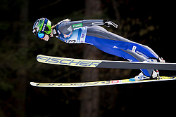 Spela Roglej from Slovenia during Qualification Round at Day 2 of FIS Ski Jumping World Cup Ladies Ljubno 2018, on January 27, 2018 in Ljubno ob Savinji, Slovenia. Photo by Urban Urbanc / Sportida