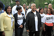 l to r; Laura Harper-Paultre, Nicole Paultre Bell, Rev. Al Sharpton, and Tamika Mallory, and Rachel Noerdlinger at the Critical Mass and The National Action Network(NAN) join forces for The Critical Mass monthly civil disobedience ride to protest the Not Gulity verdict of NYPD shooting death of Sean Bell, and critically injuring Joseph Guzman and Trent Benefield at 14th Streeet Union Square on May 30, 2008 ..Critical Mass is an event typically held on the last Friday of every month in cities around the world where bicyclists and other self-propelled commuters take to the streets en masse. While the ride was originally founded with the idea of drawing attention to how unfriendly the city was to bicyclists,[1] the leaderless structure of Critical Mass makes it impossible to assign it any one specific goal. In fact, the purpose of Critical Mass is not formalized beyond the direct action of meeting at a set location and time and traveling as a group through city or town streets.
