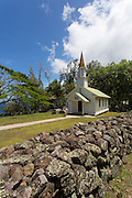 Siloama Church, 1885, Kalaupapa Peninsula, Molokai, Hawaii