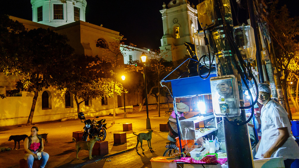 Street food Santa Marta Colombia