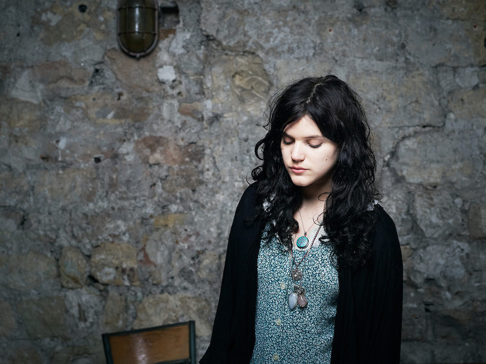 "PARIS, FRANCE. NOVEMBER 17, 2011. French singer ""Soko"" at the Comptoir General. Photo: Antoine Doyen"