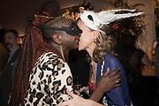 ZAINAB SOKONA; ROWAN PELLING, Sotheby's Erotic sale cocktail party, Sothebys. London. 14 February 2018