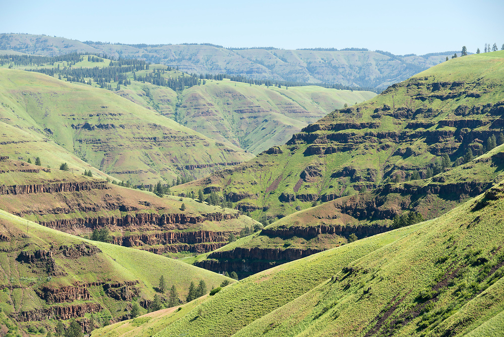 Grande Ronde River canyon in Northeast Oregon.