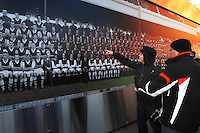 Archive project with Arsenal FC - to produce large sheet type Team Picture featuring all Arsenal players to have played at Highbury since the 1900s - to commemorate their move to the new Emirates Stadium