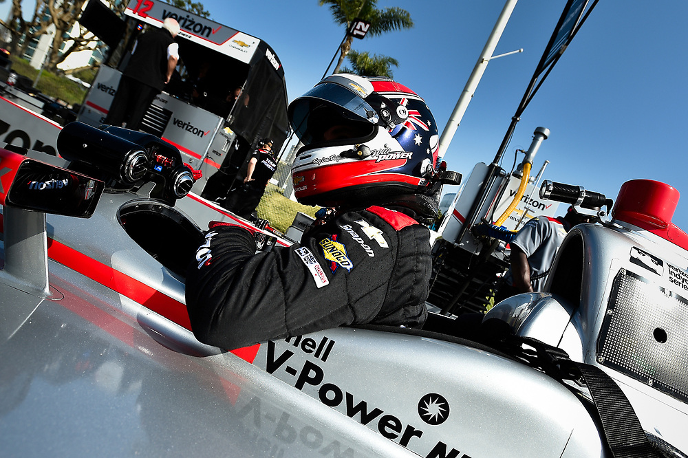 Will Power, Team Penske Chevrolet<br /> Friday 13 April 2018<br /> Toyota Grand Prix of Long Beach<br /> Verizon IndyCar Series<br /> Streets of Long Beach, California USA<br /> World Copyright: Scott R LePage<br /> LAT Images