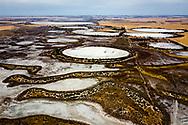 Salt lakes of Walk Walkin Nature Reserve, Western Australia