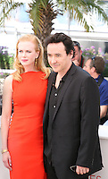 Nicole Kidman and John Cusack at The Paperboy photocall at the 65th Cannes Film Festival France. Thursday 24th May 2012 in Cannes Film Festival, France.