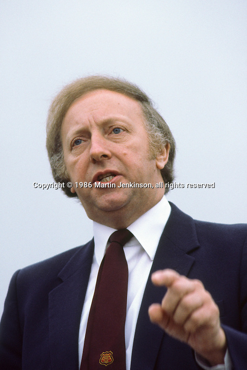 Arthur Scargill, President National Union of Mineworkers.