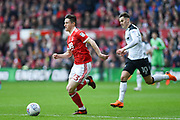 Nottingham Forest forward Joe Lolley (23) during the EFL Sky Bet Championship match between Nottingham Forest and Derby County at the City Ground, Nottingham, England on 11 March 2018. Picture by Jon Hobley.