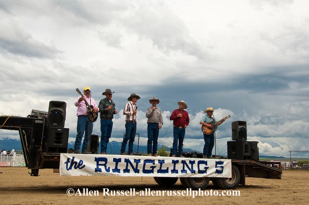 Ringling Five, Wilsall Rodeo, Montana