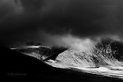 The huge & imposing massif of Yr Wyddfa (Snowdon) Wales' highest mountain. This was taken following a last minute decision to slog up Mynydd Mawr under inclement weather but it resulted in just the most fantastic hour of weather-watching from it's summit. I was utterly gripped by the continual theatrical change of light being played out across the Snowdonia hills. If it were not for my friend feeling frozen I would have braved another hour or so of just sitting and watching.