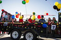 Laconia Homecoming Parade, Karen Bobotas for the Laconia Daily Sun