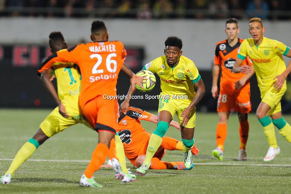 Georges Kevin NKOUDOU - 20.12.2014 - Lorient / Nantes - 17eme journee de Ligue 1 -<br />Photo : Vincent Michel / Icon Sport
