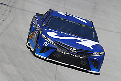 April 13, 2018 - Bristol, Tennessee, United States of America - April 13, 2018 - Bristol, Tennessee, USA: Martin Truex, Jr (78) bring his racecar down the backstretch during opening practice for the Food City 500 at Bristol Motor Speedway in Bristol, Tennessee. (Credit Image: © Chris Owens Asp Inc/ASP via ZUMA Wire)