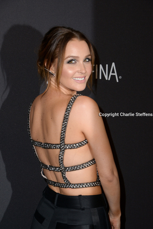 Camilla Luddington attends the InStyle and Warner Bros 73rd Annual Golden Globes Post-Party at the Beverly Hilton Hotel on January 10, 2016, in Beverly Hills, California. (Photo: Charlie Steffens/Gnarlyfotos)