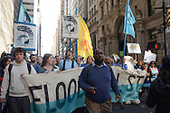 Flood Wall Street Protest