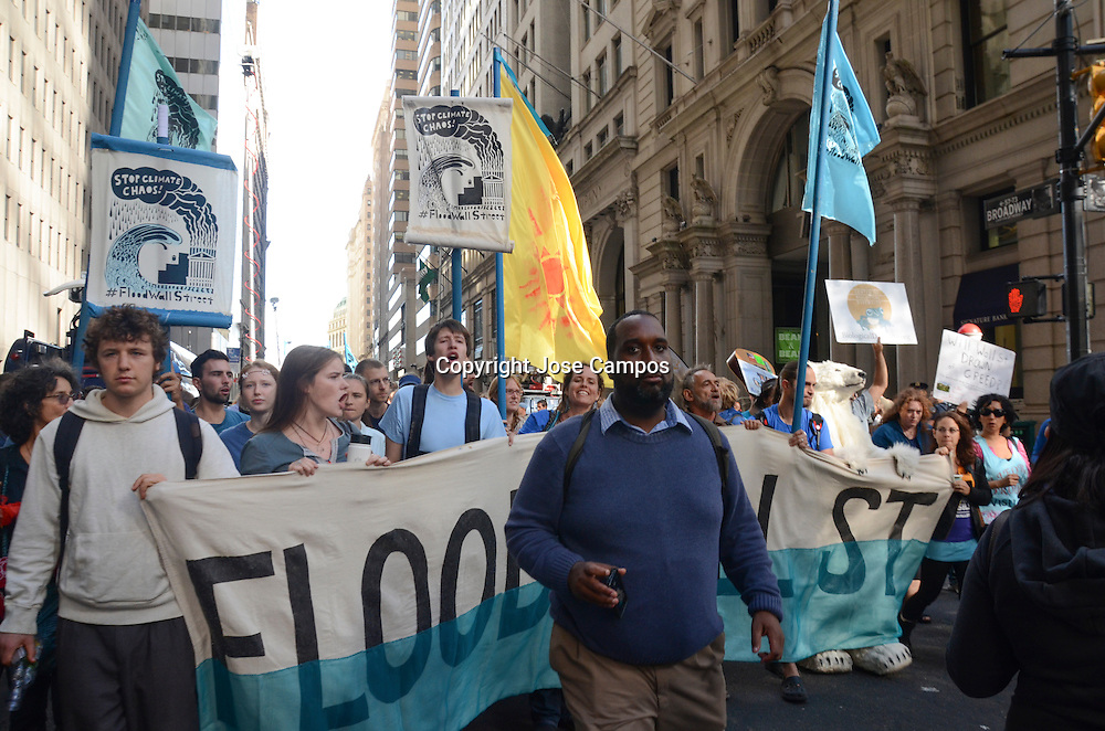 Flood Wall Street Protest