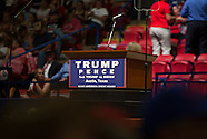 Donald Trump Visit to Austin TX Aug 23 2016