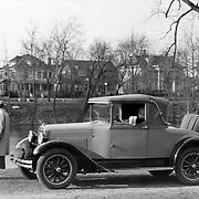 1927 Erskine Landau at South Bend, Indiana's Leeper Park.