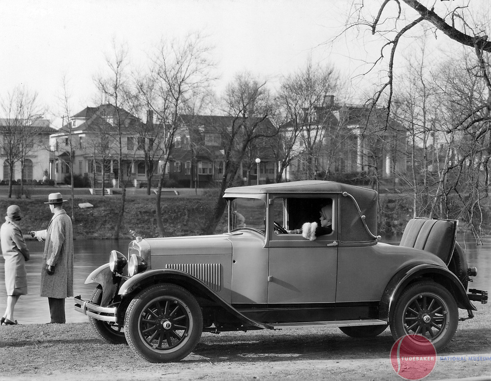 1927 Erskine Landau at South Bend, Indiana's Leeper Park.