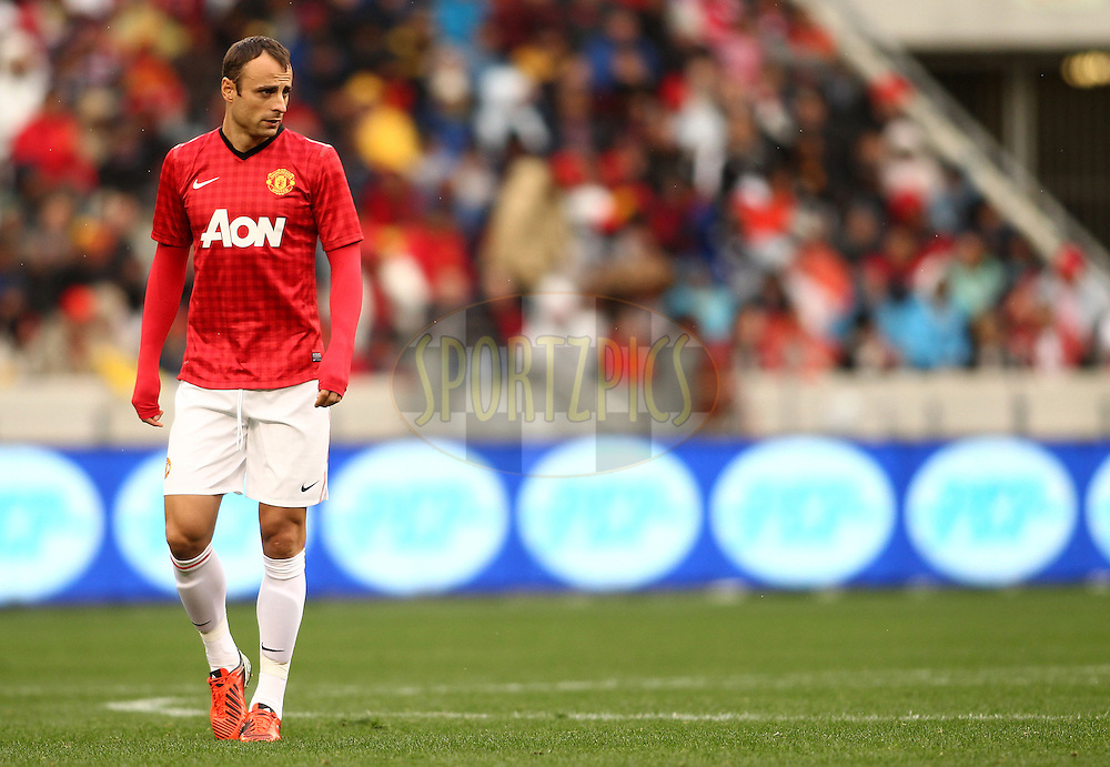 Dimitar Berbatov of Manchester United during the Football Invitational 2012 match between Ajax Cape Town and Manchester United held at Cape Town Stadium on 21 July 2012 in Cape Town, South Africa..Photo by Shaun Roy / Sportzpics
