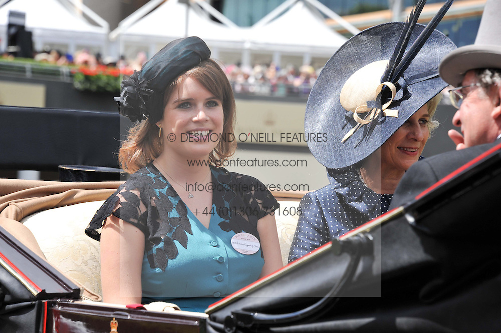 PRINCESS EUGENIE OF YORK at day 1 of the Royal Ascot Racing Festival 2012 held on 19th June 2012.