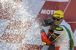 November 12, 2017 - Valencia, Valencia, Spain - 42 Marcos Ramirez (Spa) Platinum Bay Real Estate Ktm during the race day of the Gran Premio Motul de la Comunitat Valenciana, Circuit of Ricardo Tormo,Valencia, Spain. Saturday 12th of november 2017. (Credit Image: © Jose Breton/NurPhoto via ZUMA Press)