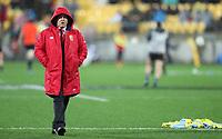 Rugby Union - 2017 British & Irish Lions Tour of New Zealand - Second Test: New Zealand vs. British & Irish Lions<br /> <br /> Warren Gatland Head Coach of The British and Irish Lions at Westpac Stadium, Wellington.<br /> <br /> COLORSPORT/LYNNE CAMERON
